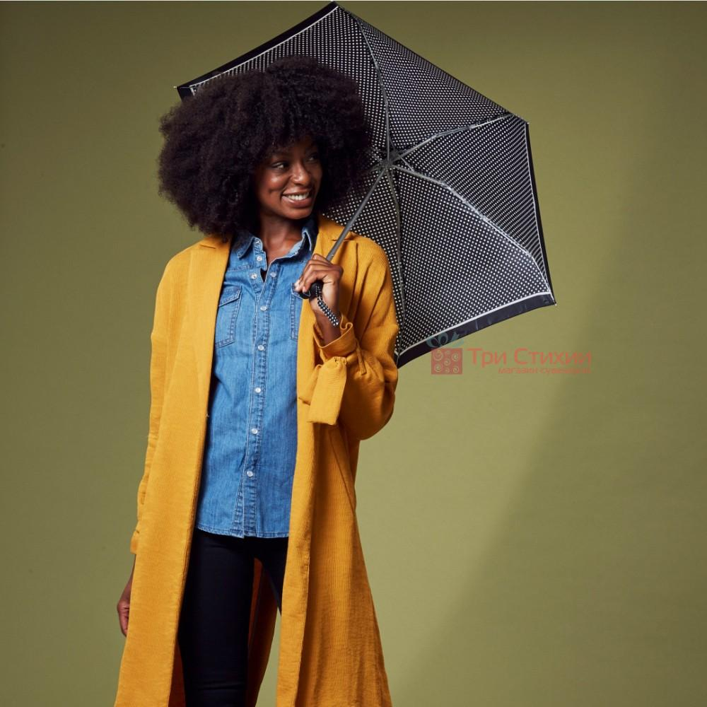 Зонт женский Fulton Tiny-2 L501 Classics Mini Spot (Горох), фото 2