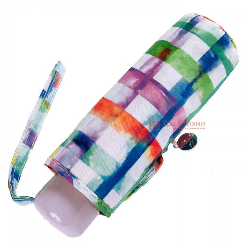 Парасолька жіноча Fulton Soho-2 L859 Rainbow Check (Райдужна клітинка), фото 3