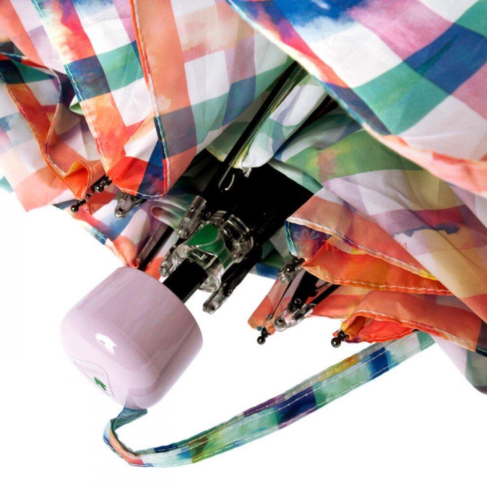Парасолька жіноча Fulton Soho-2 L859 Rainbow Check (Райдужна клітинка), фото 2