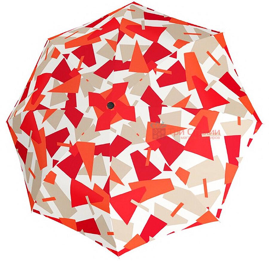 Зонт складной Doppler 7441465CR01 полный автомат Красный, фото