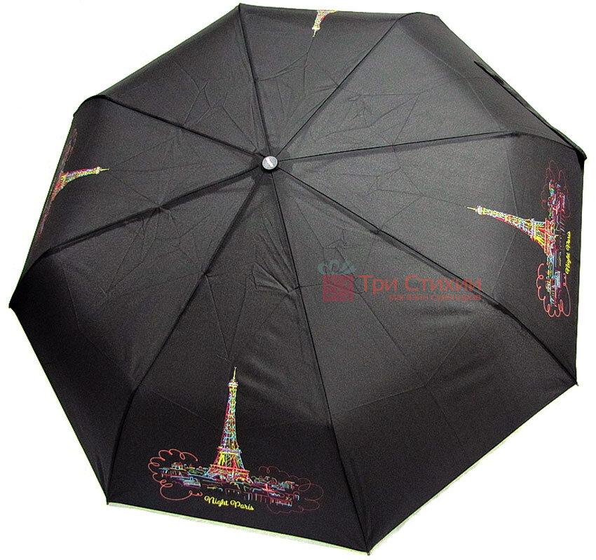 Зонт складной Doppler Париж 7441465P02 автомат Черный, фото