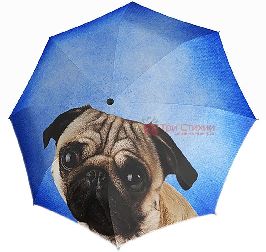 Зонт складной Doppler 74615710 автомат Собачка МОПС, фото