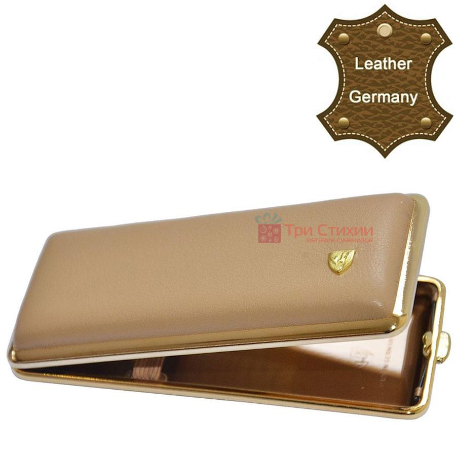 Портсигар VH 904155 для 8 KS/12 Super KS сигарет кожа Песочный, Цвет: Песочный, фото 2