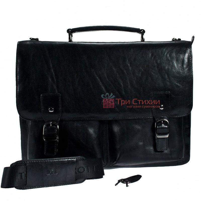 Портфель Tony Perotti Italico 9338-it nero Чёрный, Цвет: Черный, фото 2