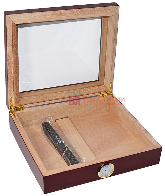 Хьюмидор Colton на 25 сигар Бургундия (09410), фото 2