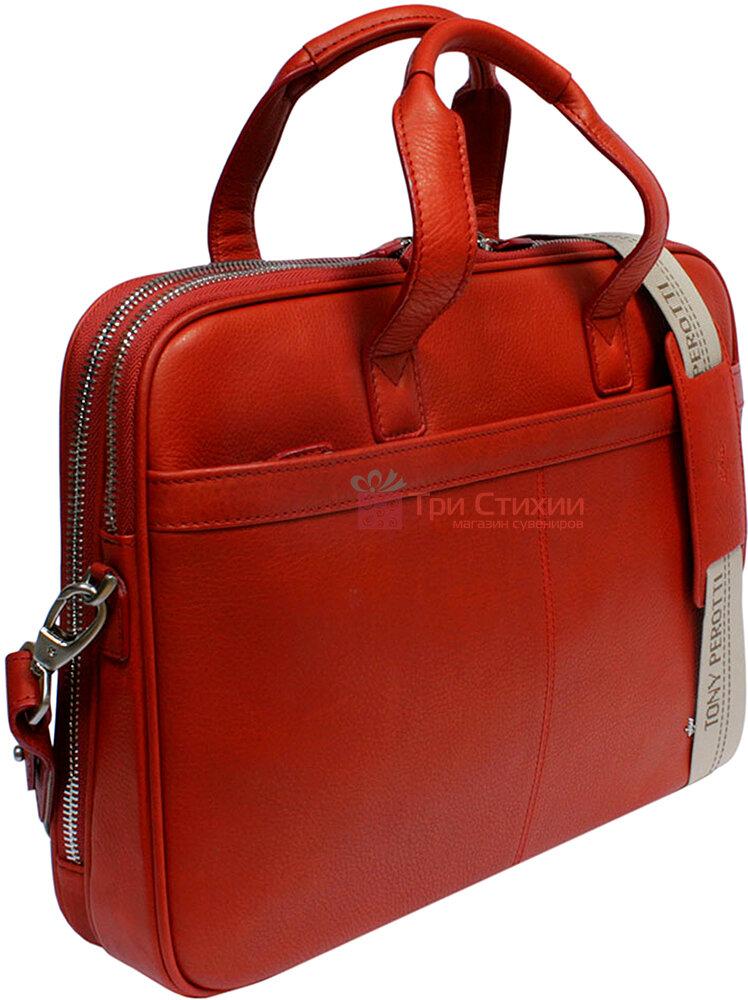 Сумка Tony Perotti Contatto 7044-40-Ct rosso Красная, фото