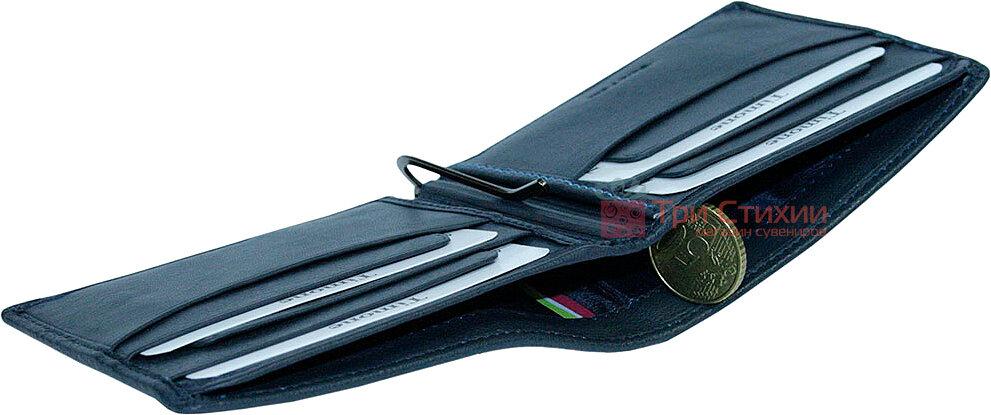 Затиск для грошей Tony Perotti Timone 11000-T navy Синій, фото 5
