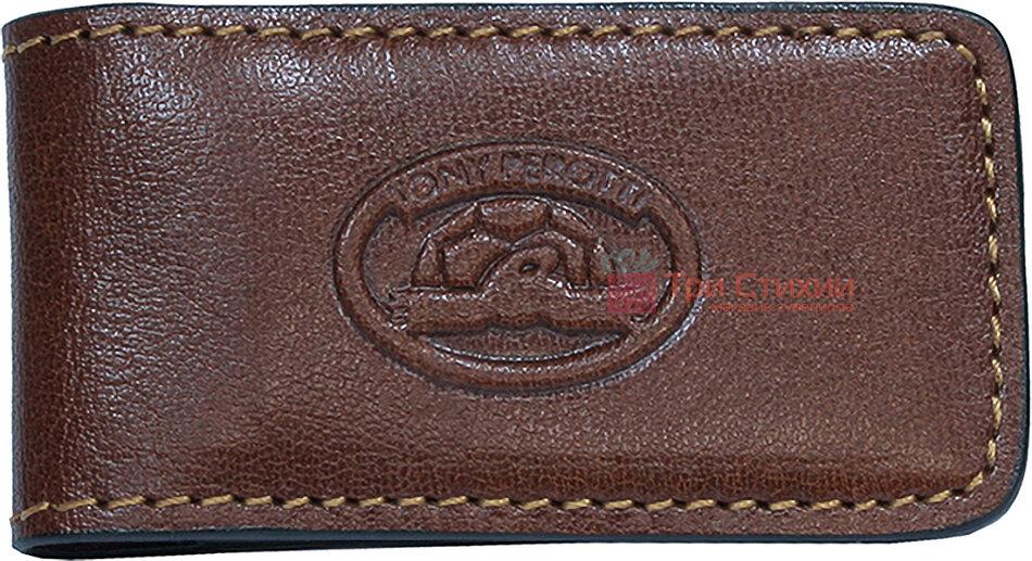 Затиск для грошей Tony Perotti Italico 1201-it cognac Коньяк, Колір: Коньяк, фото