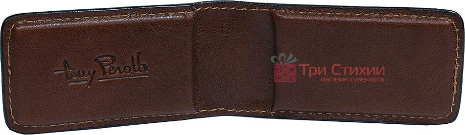 Затиск для грошей Tony Perotti Italico 1201-it cognac Коньяк, Колір: Коньяк, фото 4