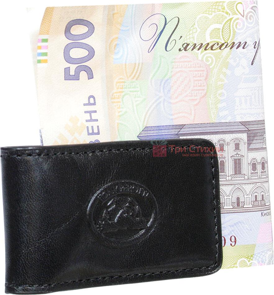 Затиск для грошей Tony Perotti Italico 1201-it nero Чорний, фото 3