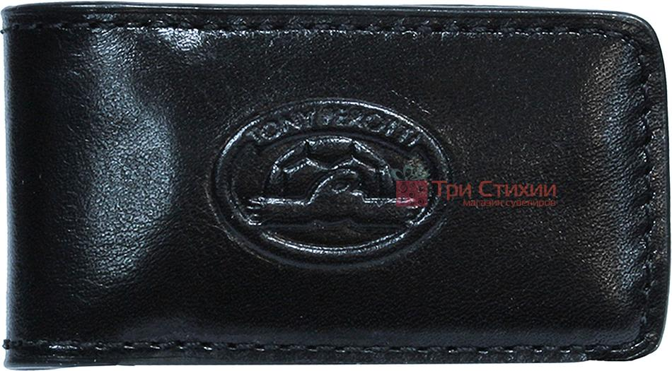 Затиск для грошей Tony Perotti Italico 1201-it nero Чорний, фото