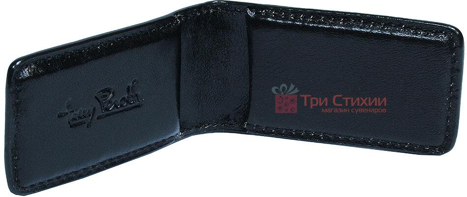 Затиск для грошей Tony Perotti Italico 1201-it nero Чорний, фото 2