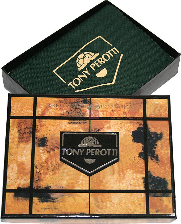 Зажим для денег Tony Perotti Italico 2526-it cognac Коньяк, Цвет: Коньяк, фото 5