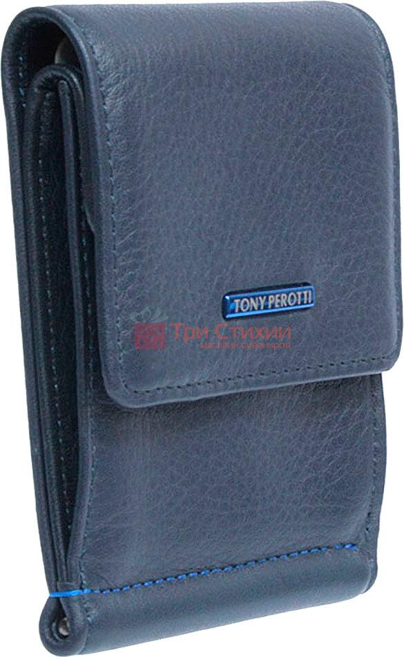 Затиск для грошей Tony Perotti New Contatto 3595-NC navy Синій, фото 2