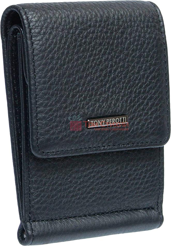 Затиск для грошей Tony Perotti New Contatto 3595-NC nero Чорний, фото 2
