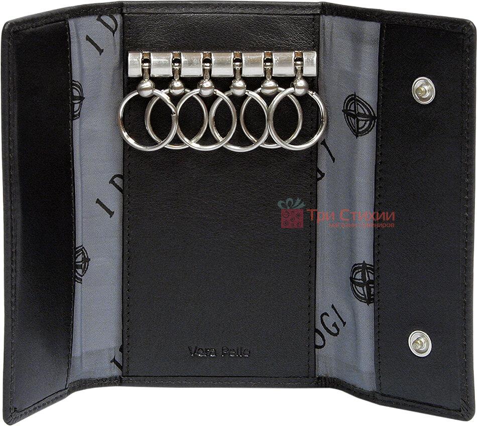 Ключниця Tony Perotti Cortina 5041-Cr nero Чорна, Колір: Чорний, фото