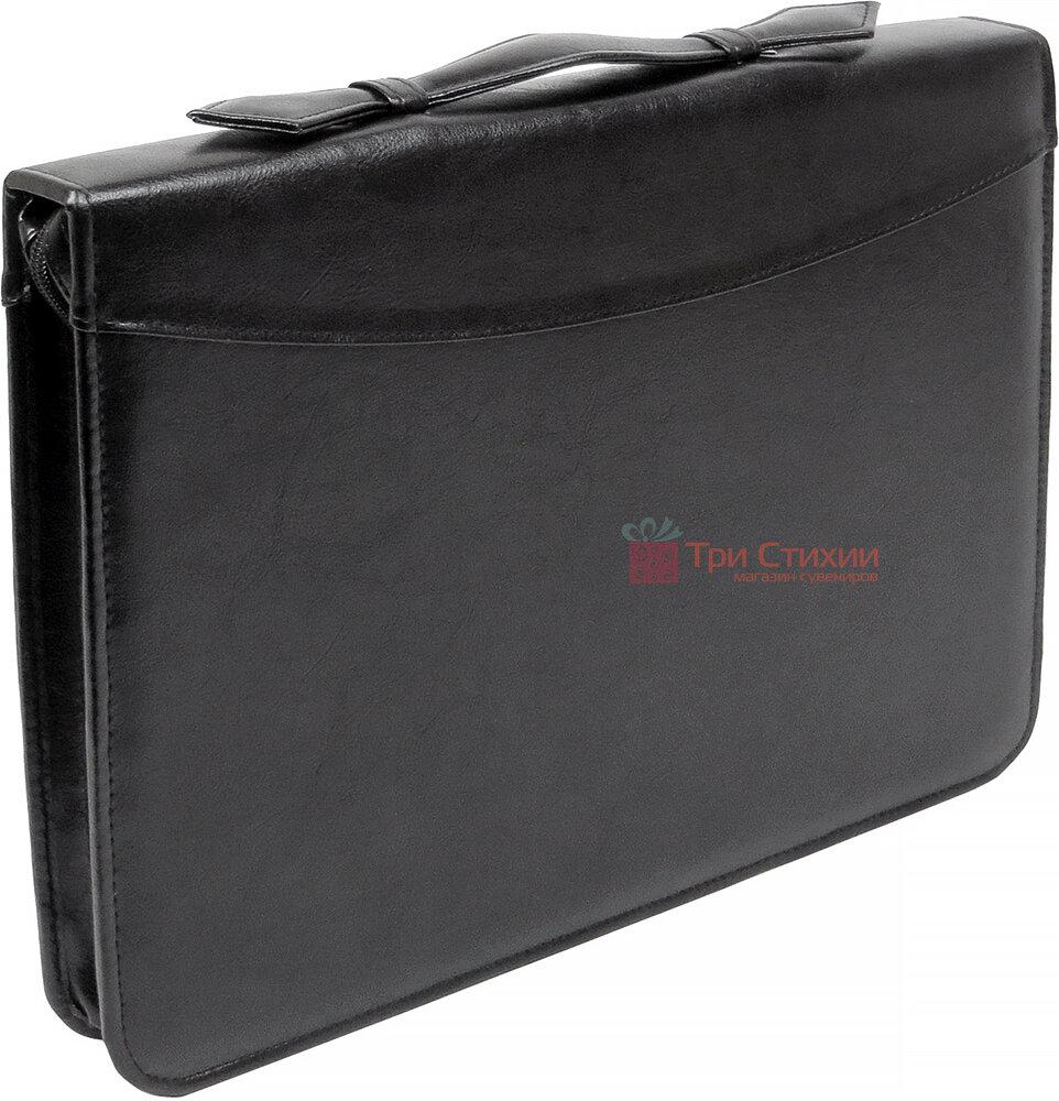 Папка-портфель для документів Exclusive 710200 Чорна, фото