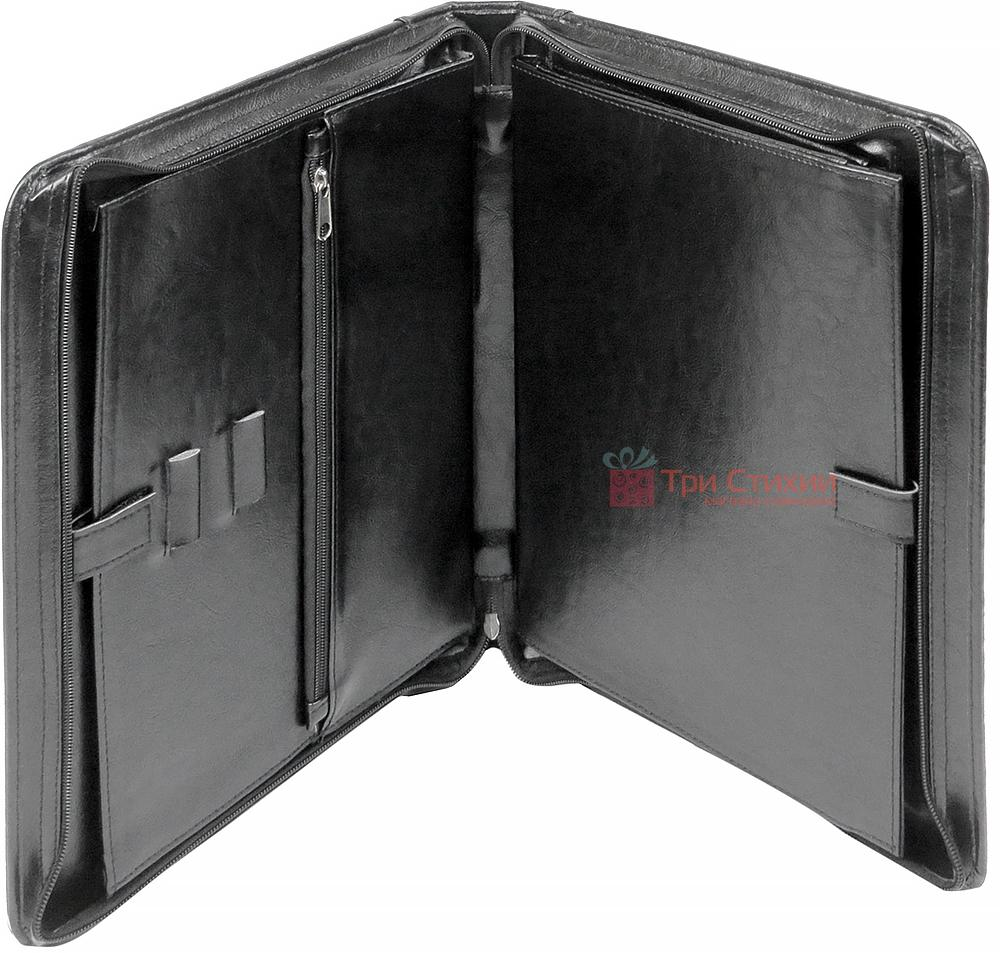 Папка-портфель для документів Exclusive 710200 Чорна, фото 2