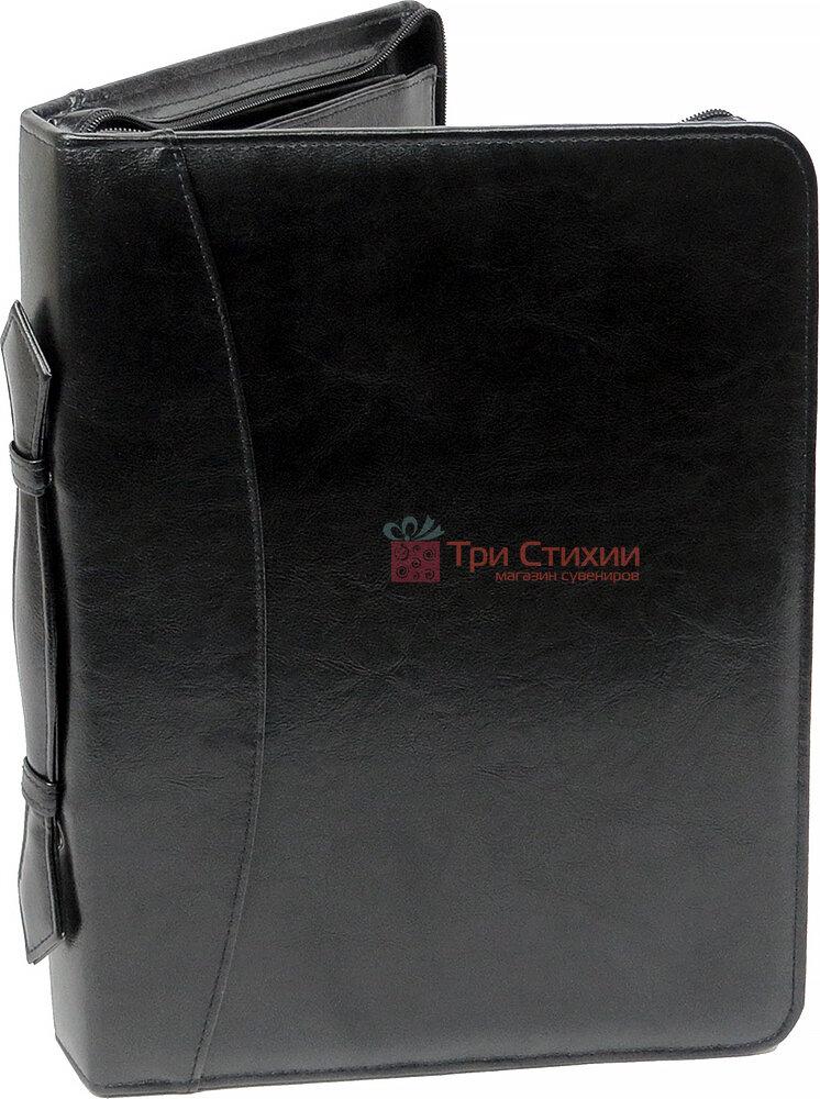 Папка-портфель для документів Exclusive 710200 Чорна, фото 3