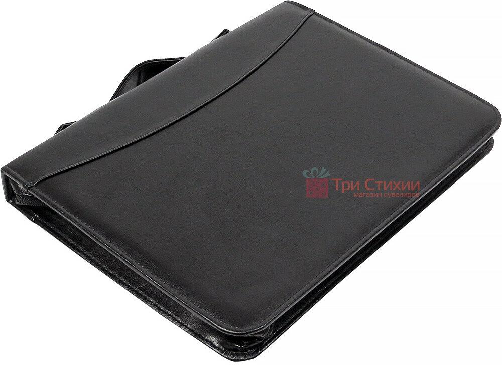 Папка-портфель для документів Exclusive 710200 Чорна, фото 4