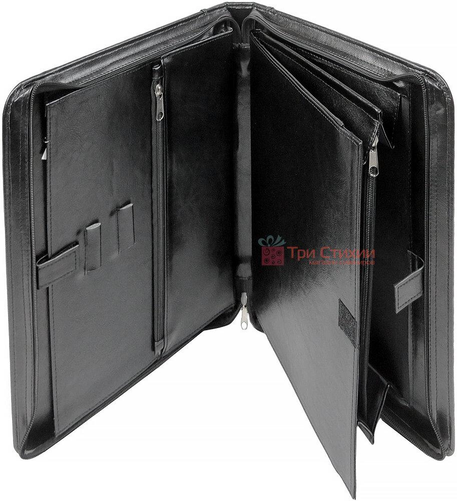 Папка-портфель для документів Exclusive 710200 Чорна, фото 5