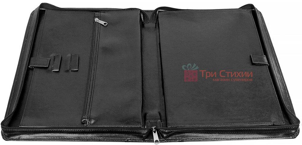 Папка-портфель для документів Exclusive 710200 Чорна, фото 6