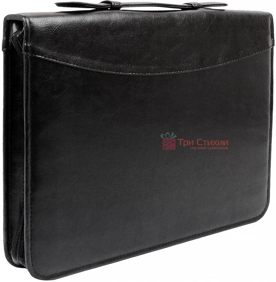 Папка-портфель для документов Exclusive 710400 Черная, фото 2