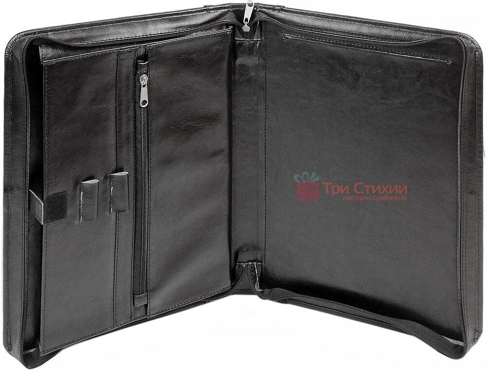 Папка-портфель для документов Exclusive 710400 Черная, фото 3