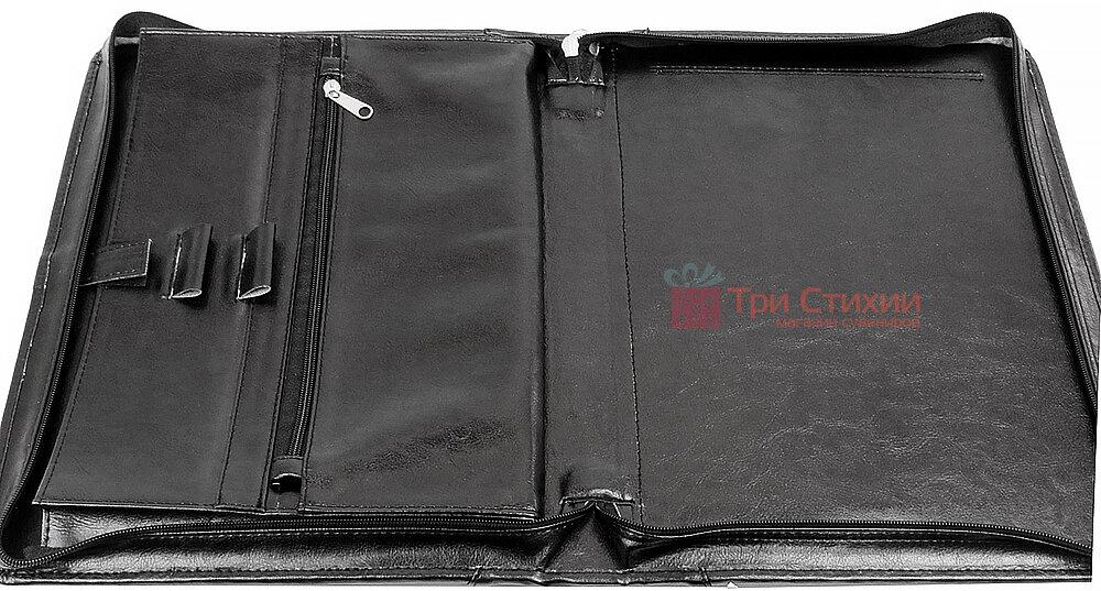 Папка-портфель для документов Exclusive 710400 Черная, фото 4
