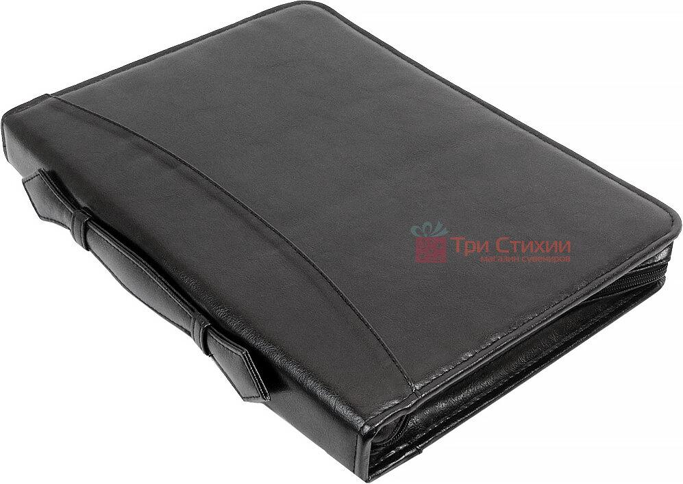 Папка-портфель для документов Exclusive 710400 Черная, фото 5