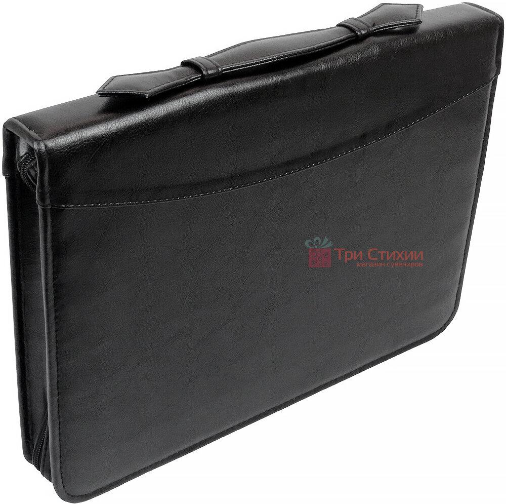 Папка-портфель для документов Exclusive 710400 Черная, фото 6
