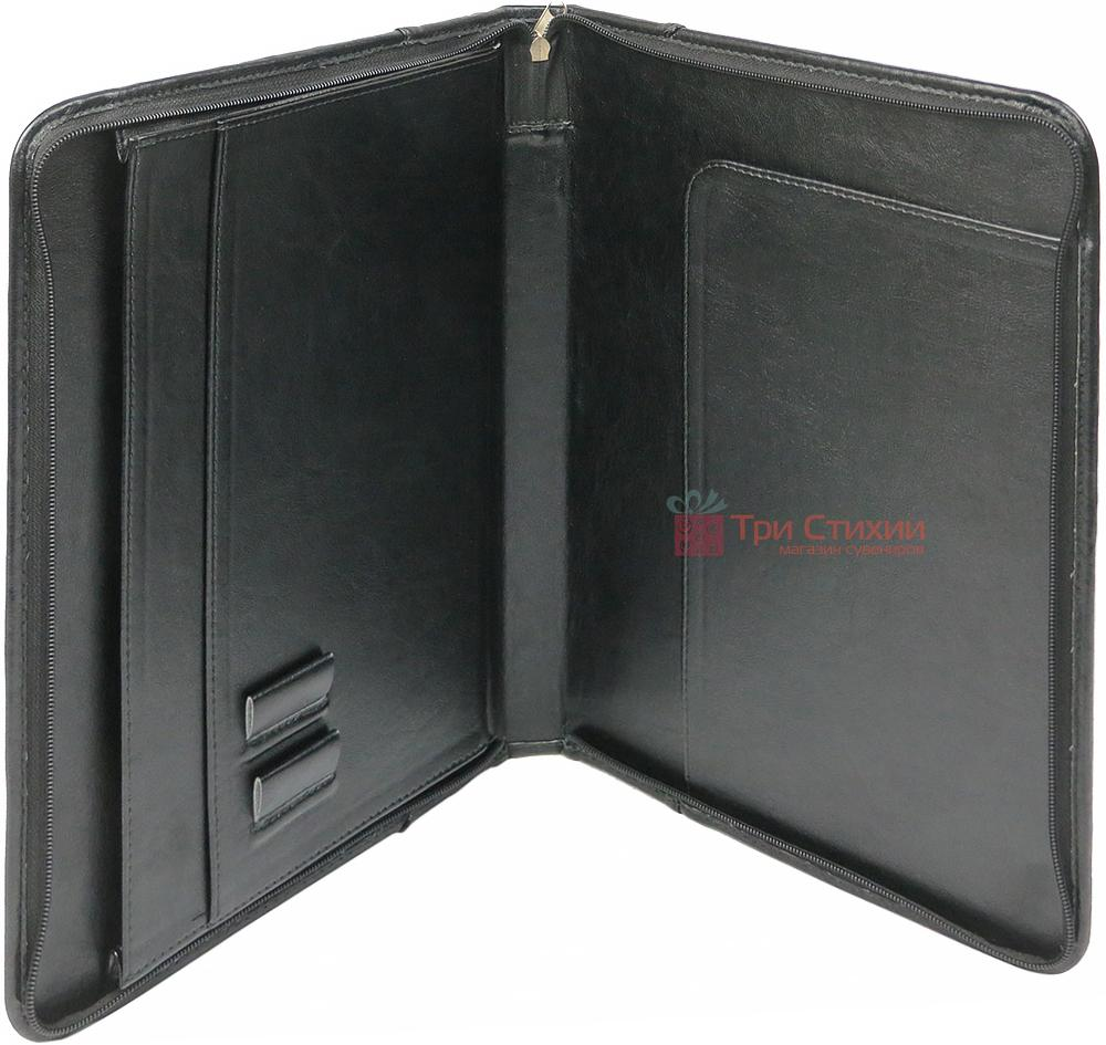 Папка деловая для документов Exclusive 710600 Черная, фото