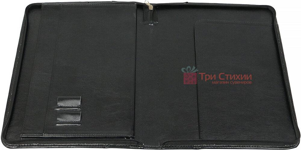 Папка деловая для документов Exclusive 710600 Черная, фото 4