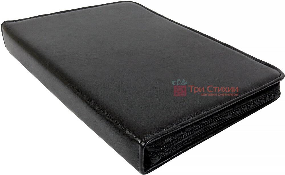 Папка деловая для документов Exclusive 711000 Черная, фото 4