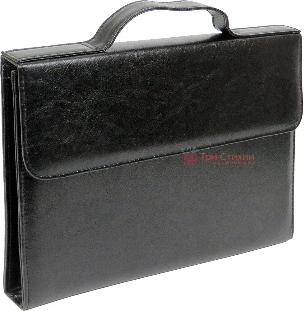 Папка-портфель для документів Exclusive 711300 Чорна, фото