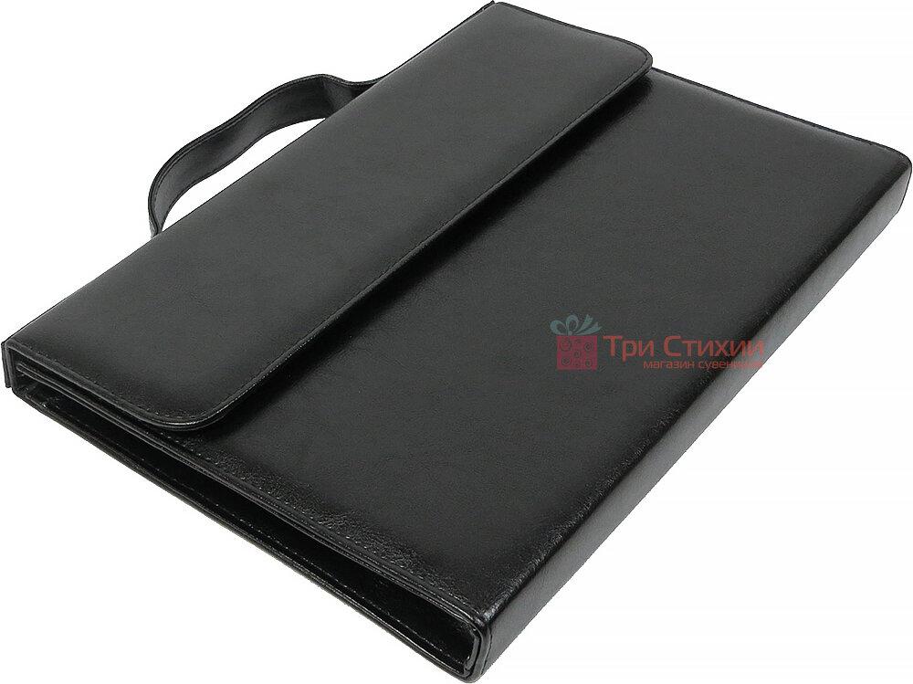 Папка-портфель для документів Exclusive 711300 Чорна, фото 4