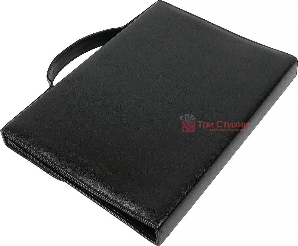 Папка-портфель для документів Exclusive 711300 Чорна, фото 5