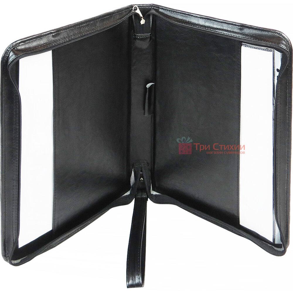 Папка ділова для документів Exclusive 712000 Чорна, фото