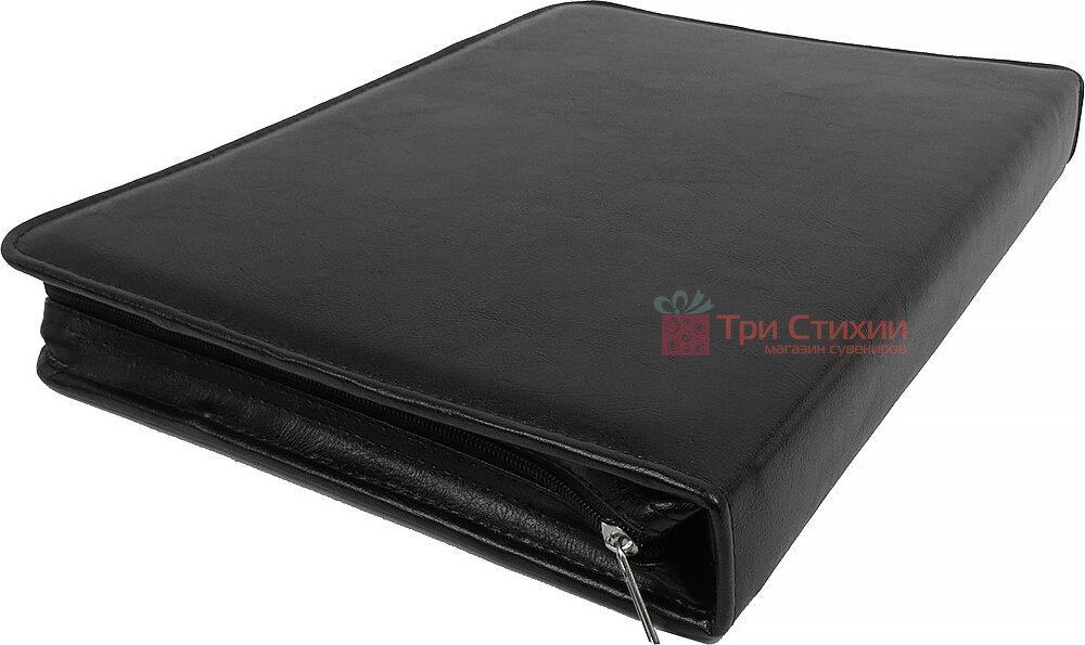 Папка ділова для документів Exclusive 712000 Чорна, фото 5
