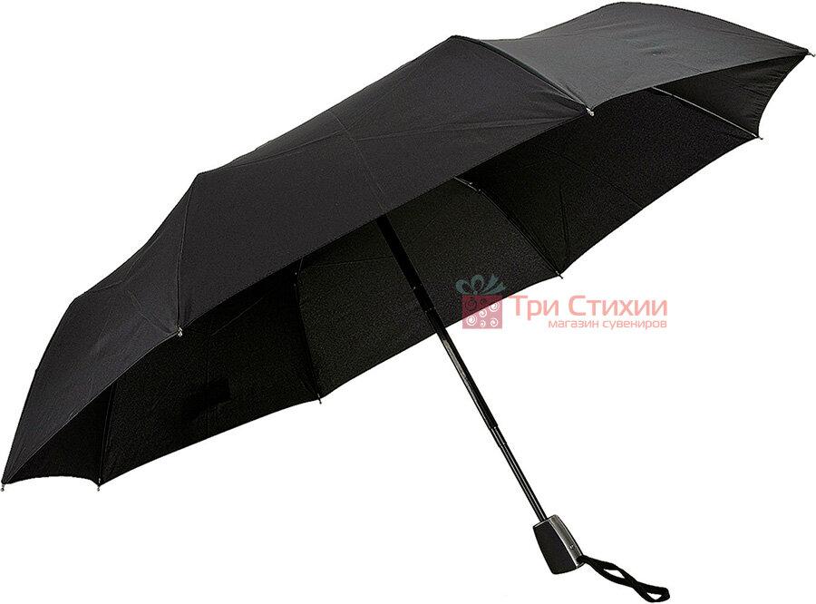 Зонт складной Doppler Carbon 730166 полуавтомат Черный, фото 2