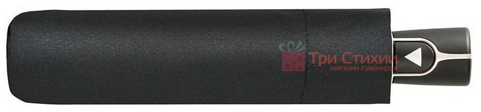 Зонт складной Doppler Carbon 730166 полуавтомат Черный, фото 4