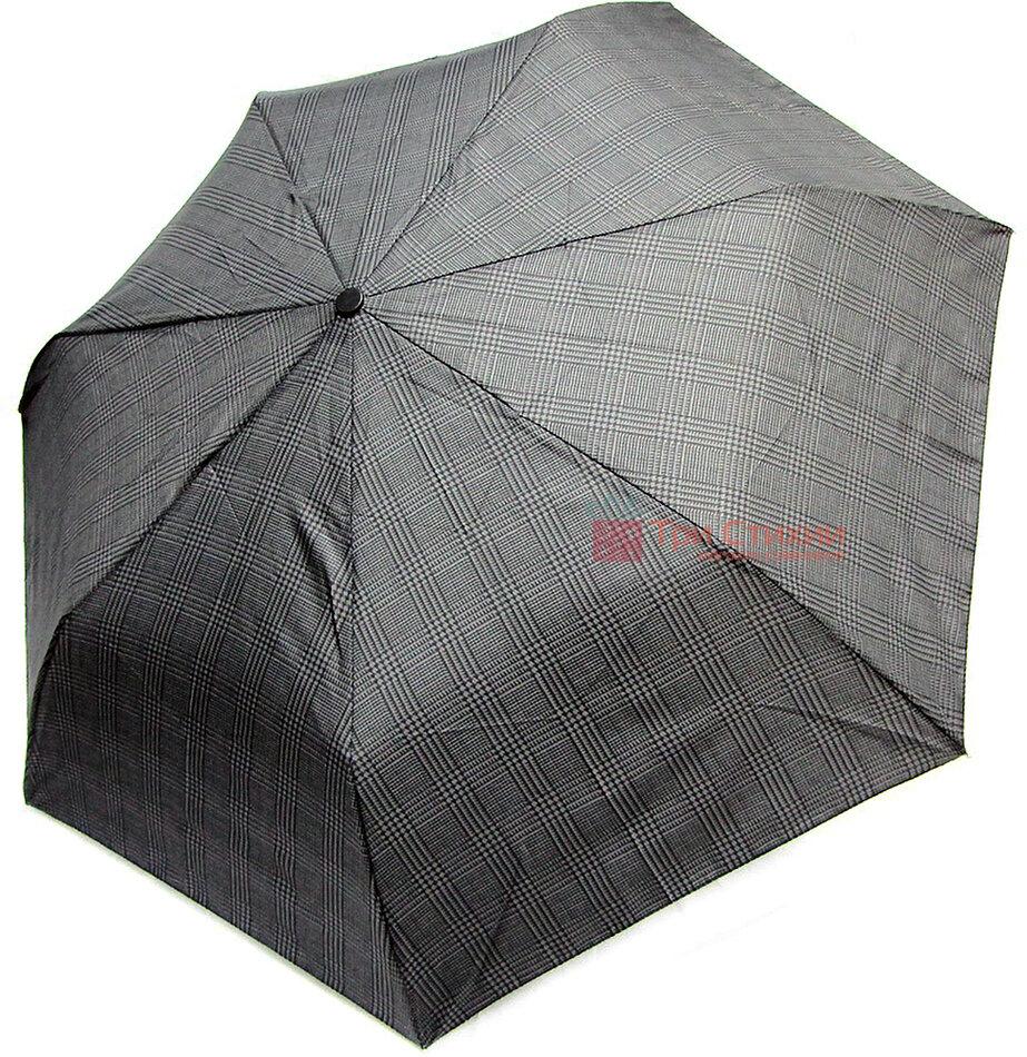 Зонт складной Doppler 7441967-2 полный автомат Серый клетка, фото