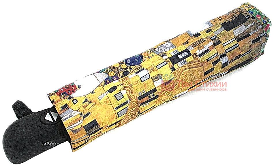 Зонт складной Doppler 744959K полный автомат Картина Klimt, фото 2