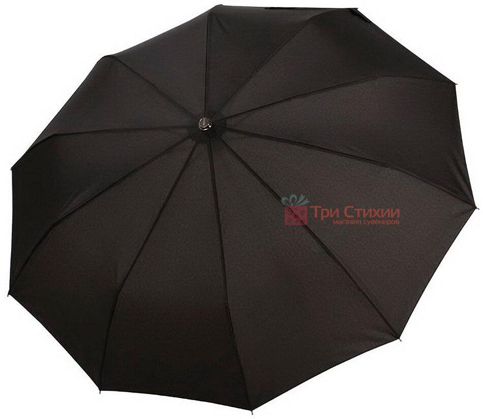 Зонт складной Doppler 10 спиц 74867FG-1 полный автомат Черный, фото