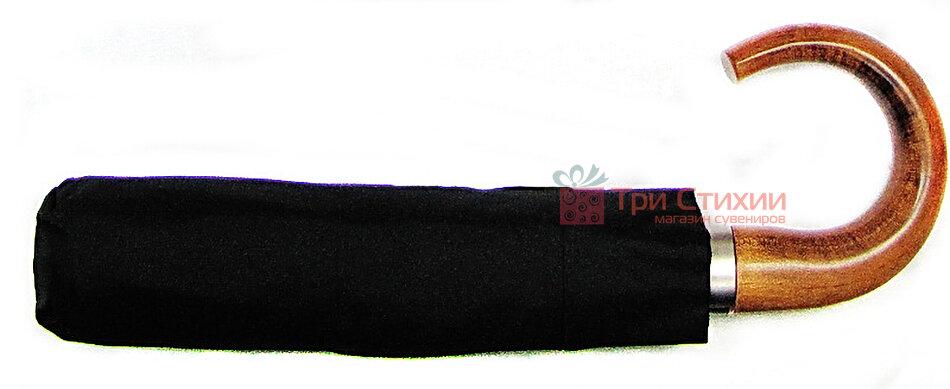 Зонт складной Doppler 10 спиц 74867FG-1 полный автомат Черный, фото 2