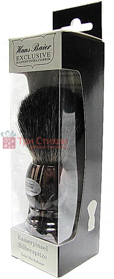 Помазок борсук для гоління Hans Baier 51041 Коричневий, фото 2