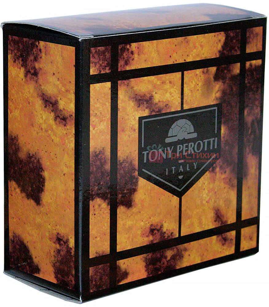 Ремінь чоловічий Tony Perotti Cinture 600/40 nero Чорний 115 см, фото 3