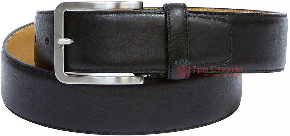 Ремень мужской Tony Perotti Cinture 600/40 nero Черный 130 см, фото