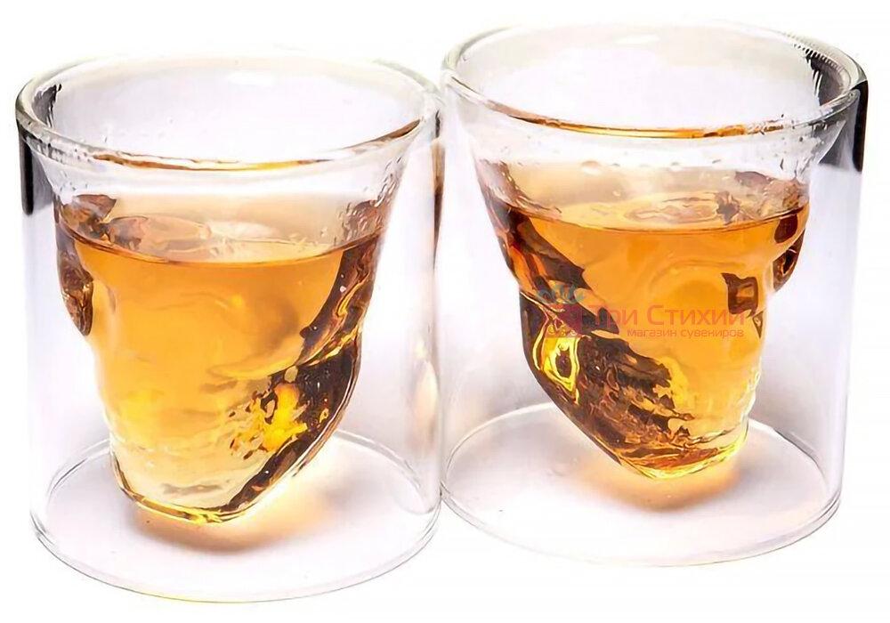 """Набір для віскі BST """"Доктор Фауст"""" штоф скло 850 мл і 2 склянки (640002), фото 2"""