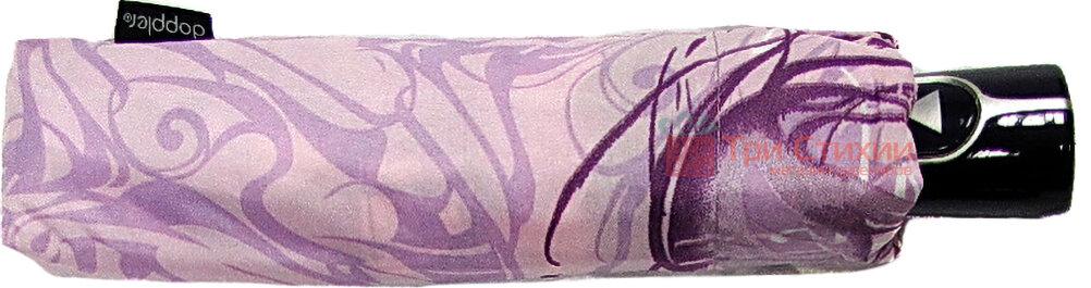 Парасолька складана Doppler 7301652503-1 напівавтомат Бузкова Візерунок, Колір: Бузковий, фото 2